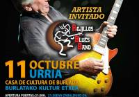Concierto de Mick Ralphs Blues Band en Burlada