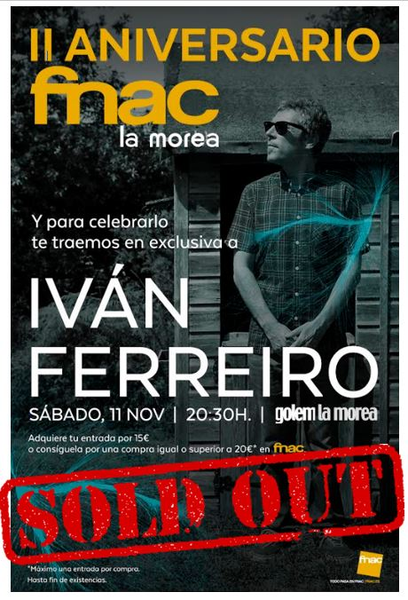 IvanFerreiro sold out