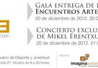Gala entrega de premios del programa Encuentros Arte Joven 2012