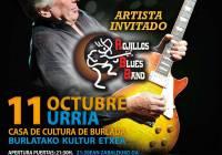 Concierto de Mick Ralphs Blues Band en Burlada