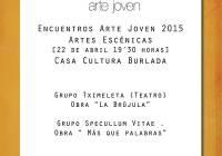 Encuentros ARTE JOVEN – Artes Escénicas