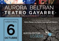 Aurora Beltrán presenta su nuevo disco Usiana
